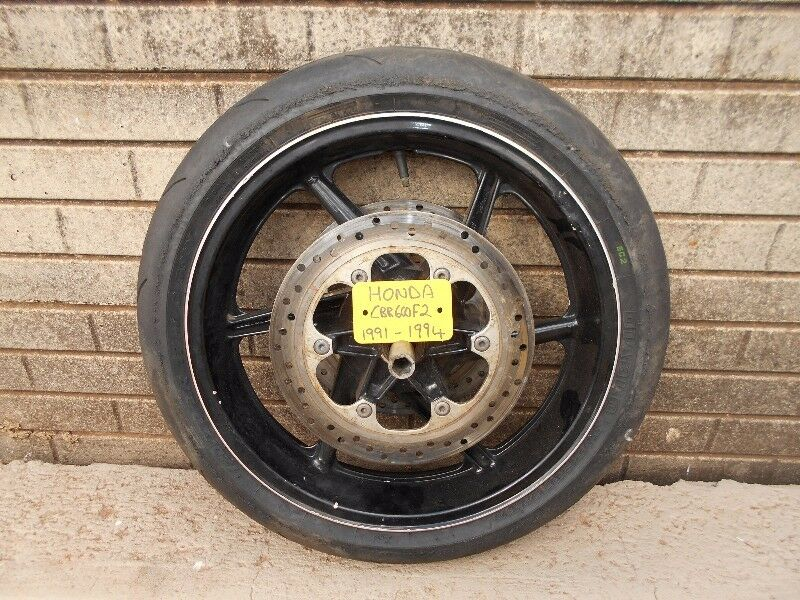 HONDA CBR600F FRONT WHEEL ASSEMBLY 91-94