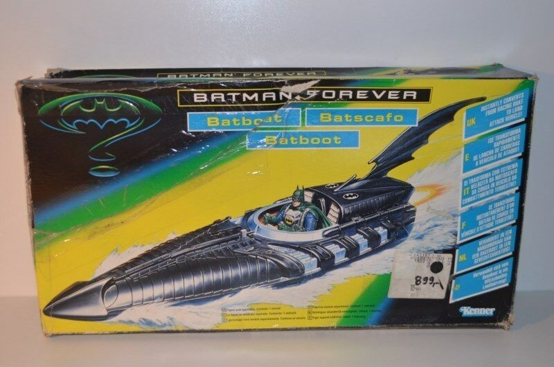 0029 Batman Forever Batboat + Box - Kenner