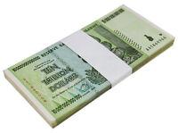 Zimbabwe 10 Trillion Dollar Banknote X 50 PCS, 2008, AA Series, USED