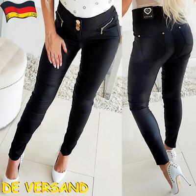Damen Skinny Hose Leggings Schlaghose Snakeskin Print Leggins Elastische Hosen