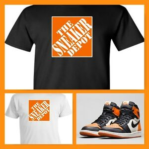 64f00b6f92eb EXCLUSIVE TEE SHIRT TO MATCH THE NIKE AIR JORDAN 1 SHATTERED ...