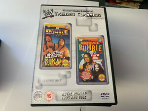 WWE-Tagged-Classics-Royal-Rumble-1995-amp-1996-DVD-WWF-Rare-amp-Deleted-Wrestling