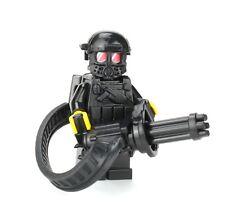 Custom Heavy Gunner minigun soldier (SKU69) made with real LEGO® minifigure
