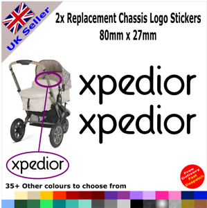 Colours 4x New 2012 iCandy Replacement Logo Stickers Pushchair Pram Stroller 35