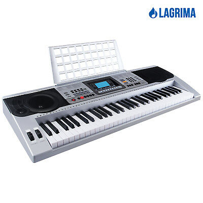 full size 61 key music digital electronic piano keyboard electric piano organ 709202325255 ebay. Black Bedroom Furniture Sets. Home Design Ideas