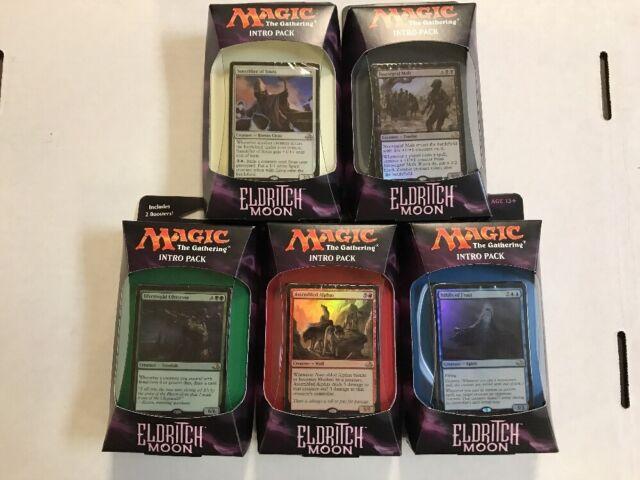 TCG MTG Intro Magic The Gathering Battle For Zendikar Theme Deck Set Of All 5