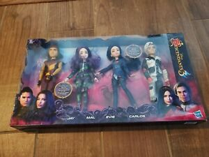 Disney Descendants 3 Dolls 4 Pack Isle of Lost EVIE JAY MAL CARLOS