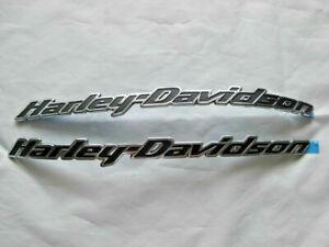 Harley-Davidson-Tank-Embleme-Tankschilder-Tankembleme-62410-10-amp-62417-10