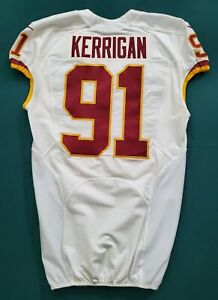 #91 Ryan Kerrigan of Washington Redskins NFL Locker Room Game Issued Jersey