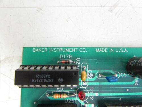BAKER INSTRUMENT PCB 80-537 REV C DIO BOARD ***XLNT***