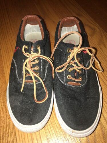 van Sz Vaughn Athletic Lauren Heren Ralph Leather Shoes 10 Canvas Sneaker Polo dwx06Onv6