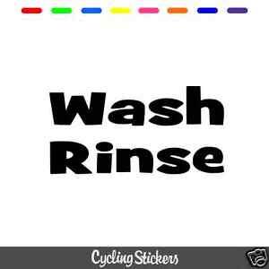 decorativa-lavado-amp-enjuague-Cubo-Pegatinas-limpieza-del-coche-Dodo-Jugo