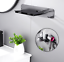 Stainless-Steel-Wall-Mount-Bracket-Holder-Stand-For-Dyson-Supersonic-Hair-Dryer thumbnail 2