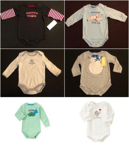 NWT Gymboree Baby Boys Bodysuit One Piece Selection Size 3-6 6-12 12-18 18-24 M