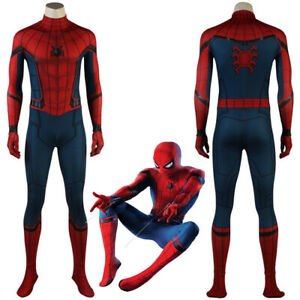 Captain America Civil War Spider-Man Homecoming Cosplay Costume 3D ...