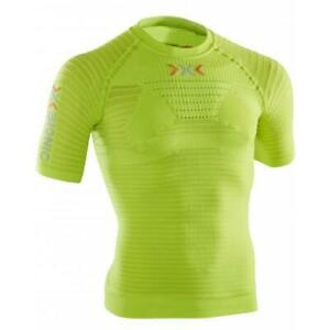 X-Bionic-on-effecteur-Power-OW-Shirt-Short-Manche-Fonction-Shirt-jaune-vert