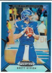 Brett Rypien 2019 Panini Prizm Draft Picks Blue Refractor #134 RC Broncos QB 🔥
