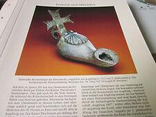 Archiv Bayerische Geschichte 1 bis Mittelalter 1047 Spätantike Bronzelampe