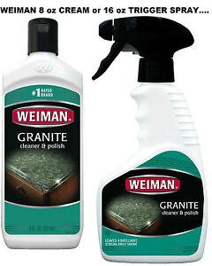 Image Is Loading Granite Marble Stone Cleaner Amp Polish Cream Spray