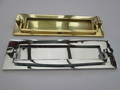 VICTORIAN STYLE POSTAL DOOR KNOCKER LETTER BOX PLATE LETTER PLATE
