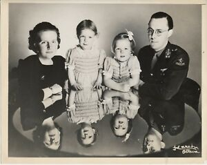Yousuf-Karsh-Ottawa-Famille-Royale-Hollande-1943-Presse-ACME