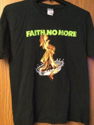 Faith No More - Blue Shirt.  L.