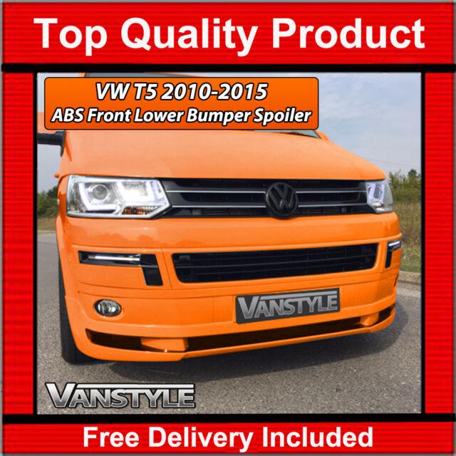 VW T5 TRANSPORTER Lower ABS Front Bumper Splitter Spoiler Not Cheap  Fiberglass