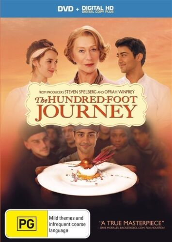 1 of 1 - The Hundred-Foot Journey (DVD, 2015)