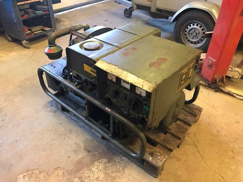 Nødstrømsgenerator fra 195, VW