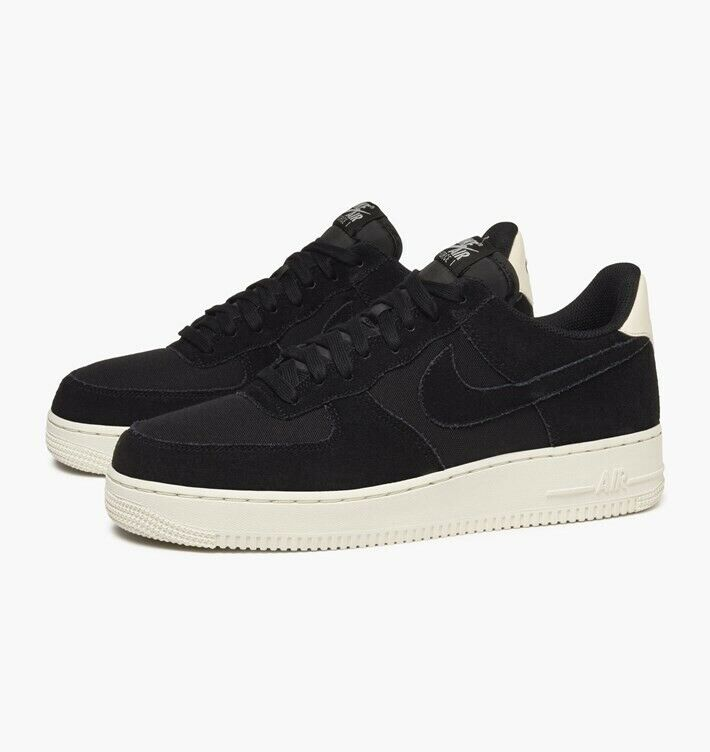 Nike Air Force 1 '07 Suede (Black) - UK 14 (EUR 49.5) - New  AO3835 001