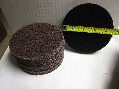 """LOT of 5 3M 5/"""" x NH Scotch-Brite Light Coating Removal Disc A MED for J Hook"""