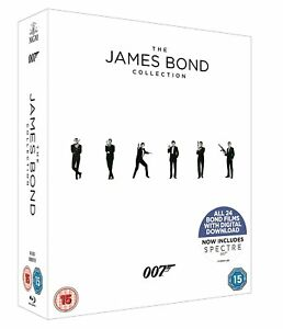JAMES-BOND-COMPLETE-COLLECTION-1-24-BOX-SET-24-DISC-BLU-RAY-2017-EDITION-RB-NEW