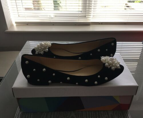 Perry The Suede Black Katy Size Shoes 6uk Lady qdUPnw