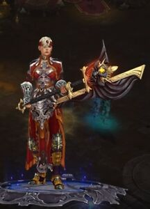 Details about DIABLO 3 ROS PS4 (Monk Primal Ancient Modded Innas Mantra Set)