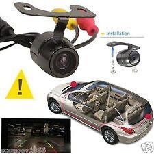 170 Degree Mini Color CCD Reverse Backup Car Rear Front View Camera Night Vision