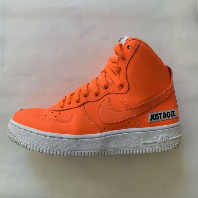 Nike Air Force 1 Lv8 Just Do It GS Av7951 800 Total Orange JDI 6.5 ...