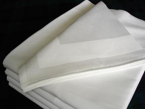 10 Tischdecken Zwirn Damast 80 x 80 weiß Gastro Hotel Bistro Hochzeit Party Bar