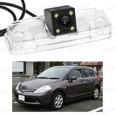 4 LED Car Rear View Camera Reverse Backup CCD for Nissan Tiida Versa 2007-2010