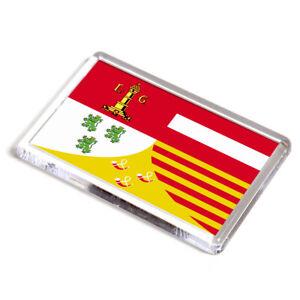 FRIDGE-MAGNET-Liege-Belgium-Flag