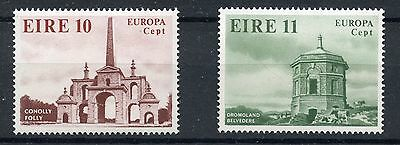 Timbre Eire Irlande Responsible Stamp Neuf N° 394/395 ** Europa Monument Mild And Mellow
