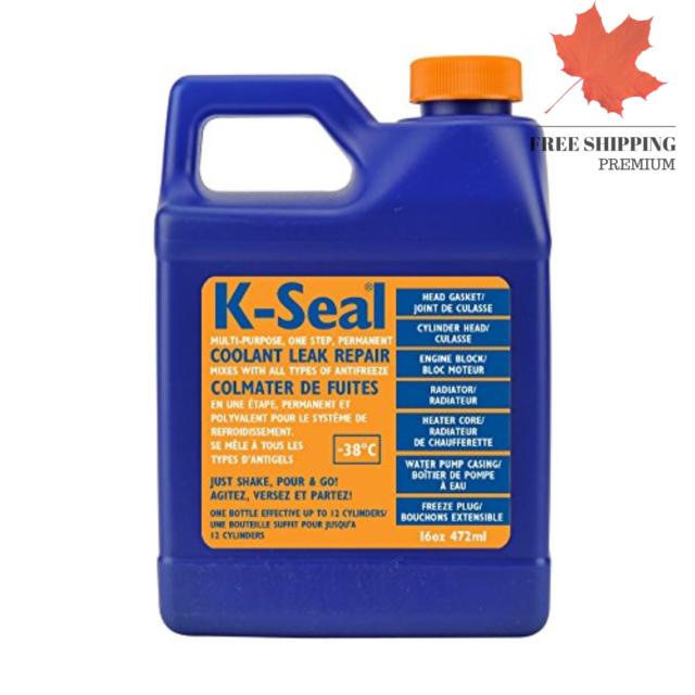 Multi Purpose One Step Permanent Coolant Leak Repair Designed for The Canadia...