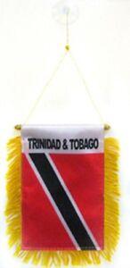 TRINIDAD /& TOBAGO  flag automobile rearview mirror window flag car MINI BANNER