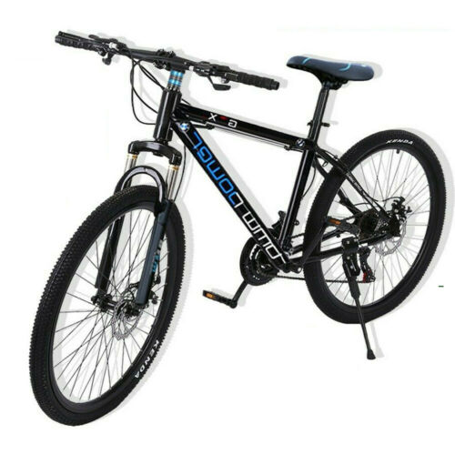 Details about  /Mountain Bike 21 Speed 26 inch Aluminum Bike Double Disc Brake Bicycles For Teen