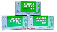 Kinginseng® Ginseng Dieter's Tea- One Month's Supply (total 31 bags) FREE SHIP!