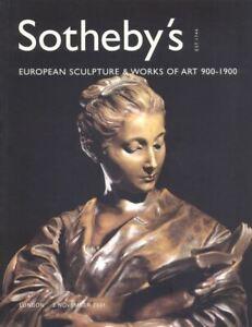 Sotheby-039-s-Catalogue-European-Sculpture-amp-WOA-02-11-2001