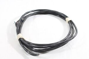 11-6-12ft-Old-Cable-Black-Power-Cord-4x2-5-Twisted-Ap-Bakelite-Switch-Outlet