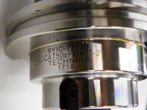 """TECHNIKS CAT 50  1 /"""" FACE MILL HOLDER    B532"""