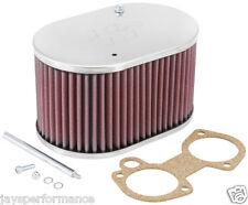 56-9107 K & n Custom Filtro De Aire Para único & Twin Barrel Dellorto 40/45/48 dhla