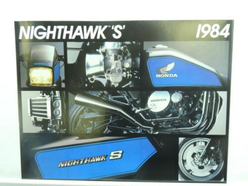 1984 Honda Nighthawk S Motorcycle Brochure L12306