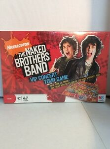 NEW Nickelodeon The Naked Brothers Band Board Game SEALED